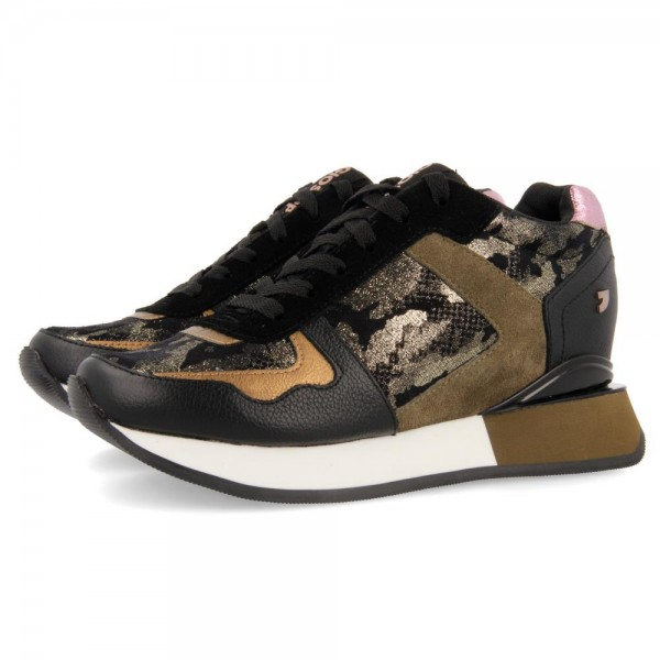 60431 GIOSEPPO-GRN Winter sneakers